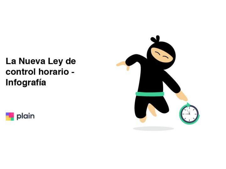 Ley de control horario - infografía