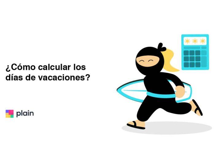 calcular días de vacaciones