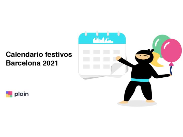 Festivos Barcelona 2021
