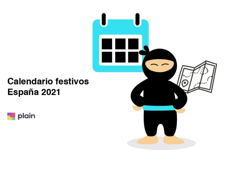 calendario festivos España 2021